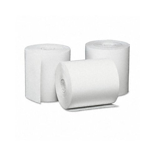 Universal® Single-Ply Thermal Paper Rolls, 50/Carton