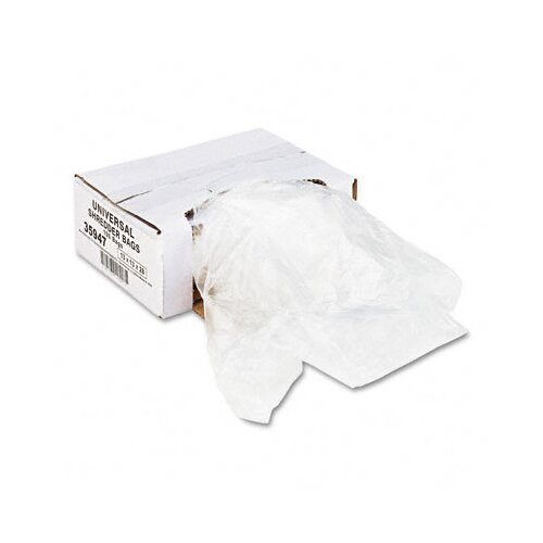 Universal® High-Density Shredder Bags, 100 Bags/Carton