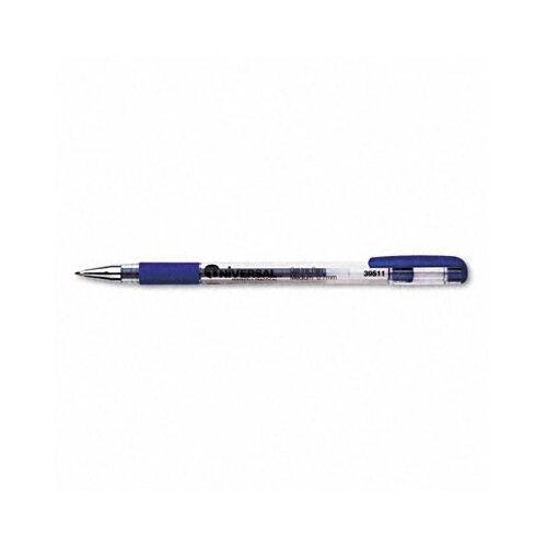 Universal® Roller Ball Stick Gel Pen, 12/Pack