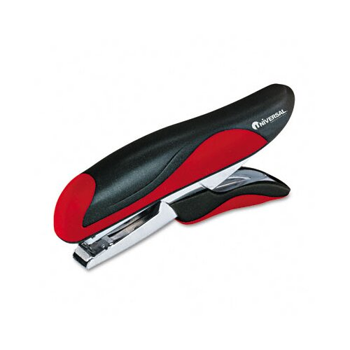 Universal® Plier Stapler, 20 Sheet Capacity, Black/Red