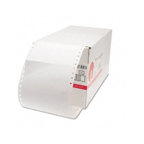 Universal® 1 Across Dot Matrix Printer Labels, 3000/Box