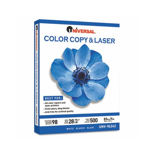 Universal® Color Copy/Laser Paper, 500 Sheets/Ream