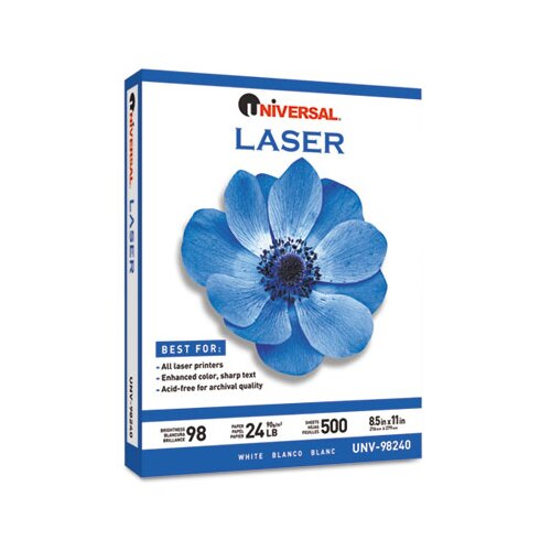 Universal® Laser Paper, 500 Sheets/Ream