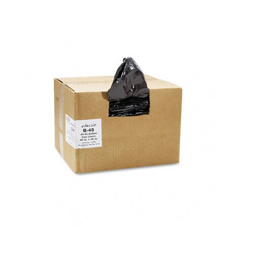 Webster Industries Classic 2-Ply Low-Density Can Liners, 40-45Gal, 0.6Mil,40 X 46, 250/Carton