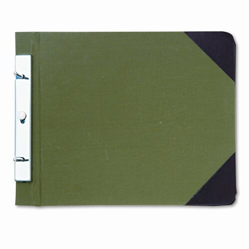 Wilson Jones Canvas Sectional Post Binder, 11 X 8-1/2, 4-1/4 Center