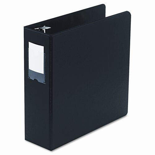 "Wilson Jones Locking No Gap Round Ring Binder with Label Holder, 3"" Capacity"
