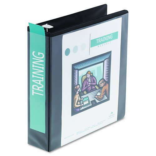 "Wilson Jones Heavy-Duty D-Ring View Binder, 2"" Capacity"