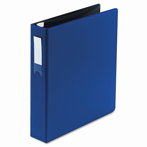 "Wilson Jones Locking No-Gap D-Ring Binder, 1-1/2"" Capacity"