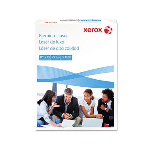 Xerox® Premium Laser Paper, 97 Brightness, 24Lb, 8-1/2 X 11, 500 Sheets/Ream