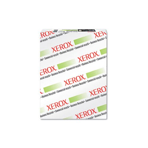 Xerox® Recycled Copy/Print Ppr, 3-Hole Punch, 92 Bright, 20lb, Letter, White, 500 Sheets/ Ream