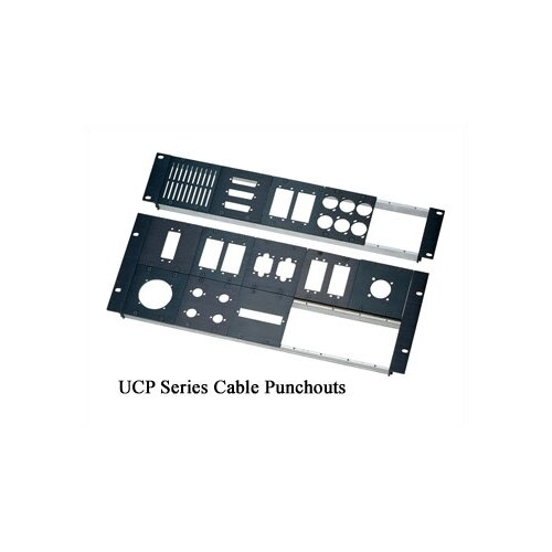 "Middle Atlantic UCP Series ""DB"" Cable Punchout"