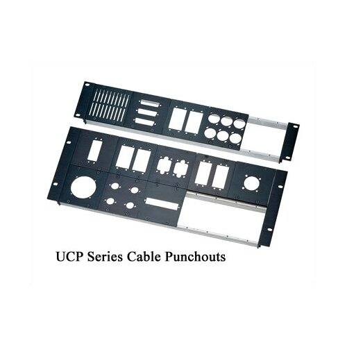 Middle Atlantic UCP Series BANA Cable Punchouts