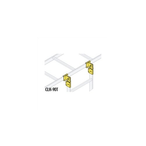 Middle Atlantic CL Series Adjustable 90 Degree Tee Splice Hardware