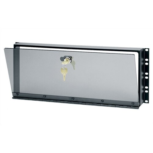 Middle Atlantic Hinged Plexiglass Security Cover for Rackmounts
