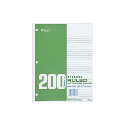 Mead Paper Filler Col 10 1/2x 8 200 ct