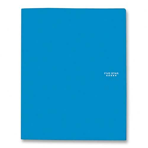 Mead Folder,w/ Pocket and Flap, 3-Prongs, Assorted