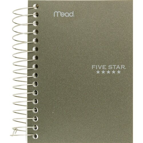 "Mead 5.5"" x 4"" Five Star Fat Lil' Wirebound Notebook"