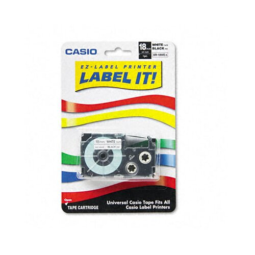 "Casio® Tape Cassette For Kl Label Makers, 3/4"" X 26Ft"