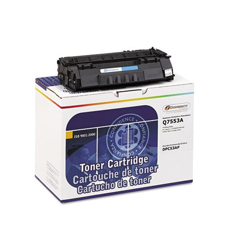 Dataproducts DPC53AP (Q7553A) Remanufactured Laser Cartridge, Black