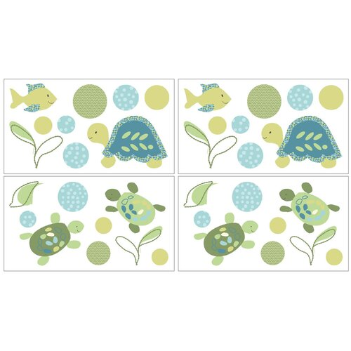 CoCaLo Baby Turtle Reef Wall Decal