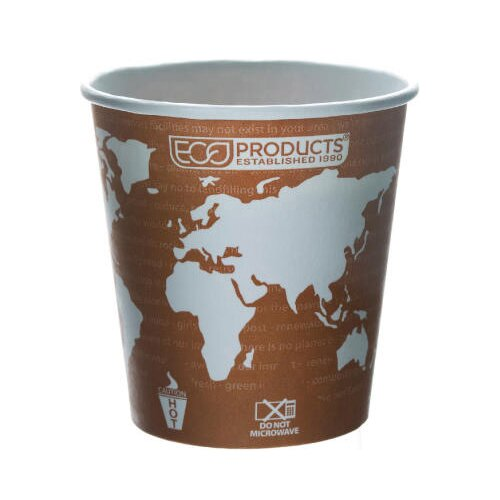 Eco-Products, Inc World Art Renewable Resource Compostable Hot Drink Cup