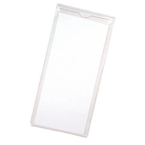 "Anglers Company Ltd. Sturdi-Kleer Vinyl Envelopes w/Flaps, 4""x9"", 10/PK, Clear"