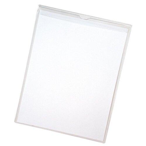 "Anglers Company Ltd. Sturdi-Kleer Vinyl Envelopes w/Flaps, 8-1/2""x11"", 10/PK, Clear"