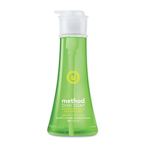Method® Dish Pump, Cucumber, 18 Oz. Pump Bottle