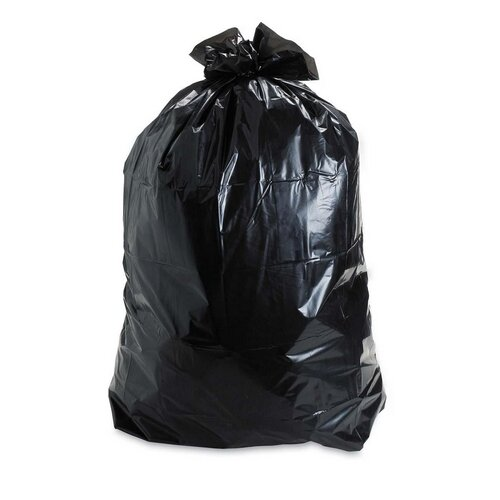 Stout Insect-Repellent Trash Garbage Bags, 55 Gal, 2Mil, 37 X 52, 65/Box