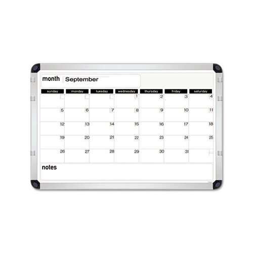 The Board Dudes Perpetual Calendar 2' x 3' Whiteboard