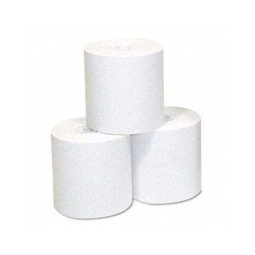 NCR Paper Thermal Receipt Paper, 3-1/8in x 90' Roll, 72/pack