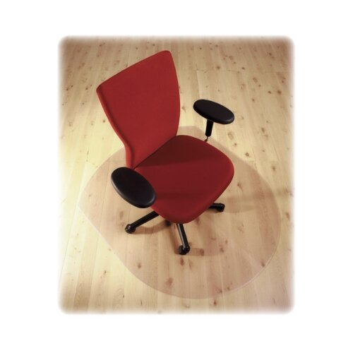 Floortex Cleartex Hard Floor Contoured Chair Mat
