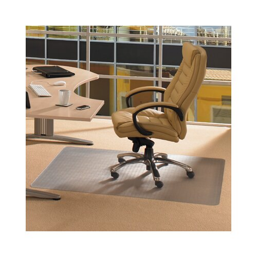 cleartex advantagemat high pile carpet chair mat reviews wayfair