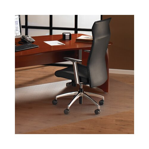 Floortex Cleartex XXL Polycarbonate Rectangular General Office Mat