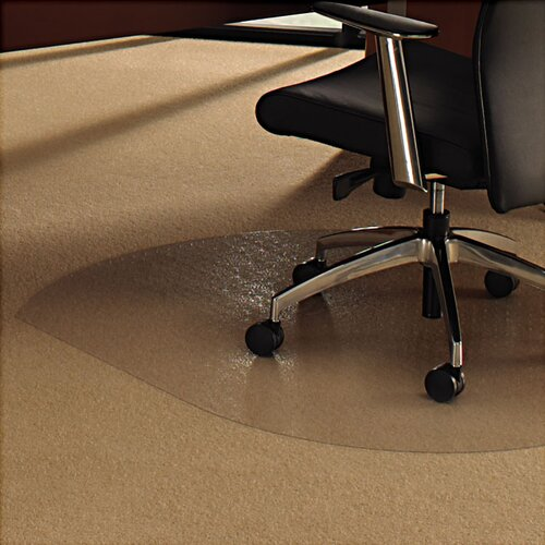 Floortex Cleartex Ultimat Low/Medium Pile Carpet Straight Edge Chair Mat