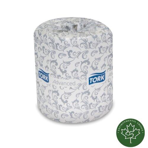 SCA TISSUE NORTH AMERICA LLC Tork Soft 2-Ply Toilet Paper - 500 Sheets per Roll / 96 Rolls