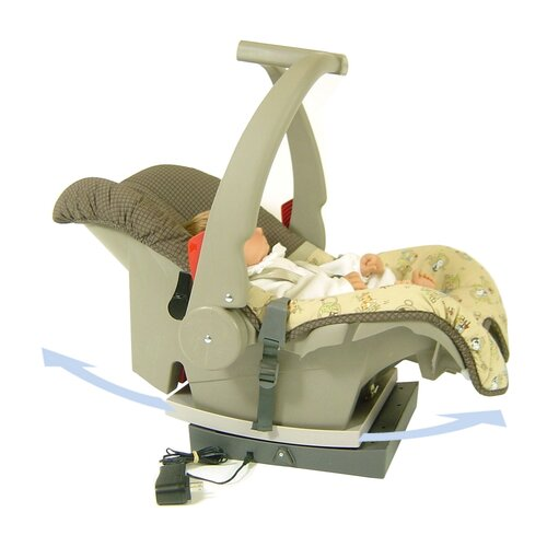 Redmon Rock on Car Seat Rocker
