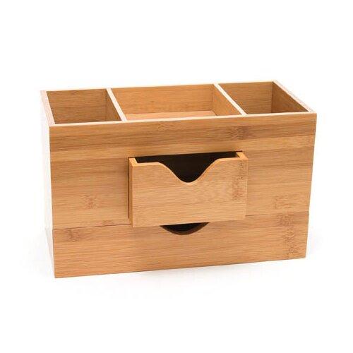Lipper International Bamboo 3 Tier Desk Organizer