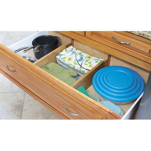 Lipper International Bamboo Kitchen Drawer Dividers