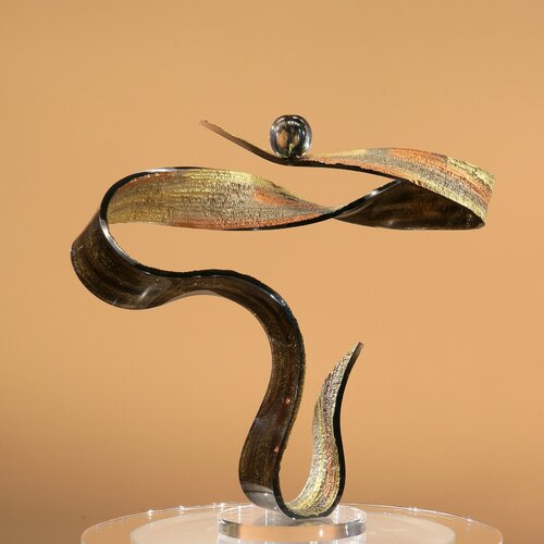 Shahrooz Sculptures and Art Pieces Swirl Sculpture