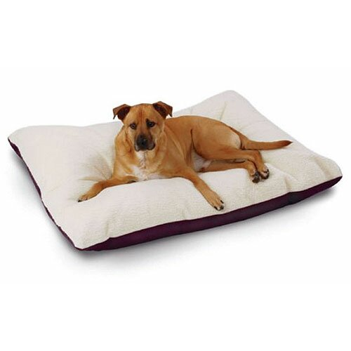 Supersoft Rectangular Ultra Sherpa Dog Pillow