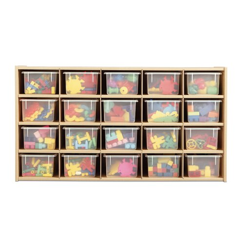 Young Time 20 Compartment Cubby