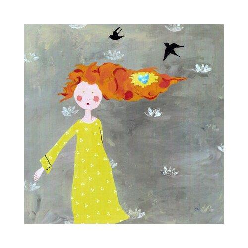 CiCi Art Factory Wit & Whimsy Bird's Nest Canvas Art