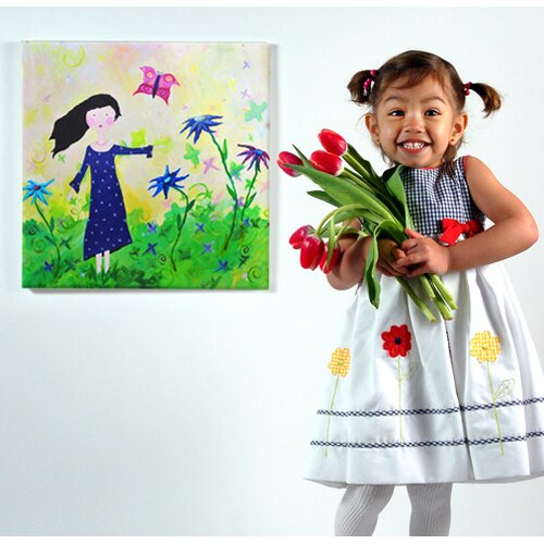 CiCi Art Factory Wit & Whimsy Butterfly Canvas Art