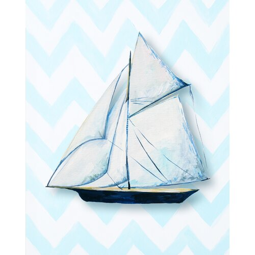 CiCi Art Factory Nautical Ship Giclée Canvas Art