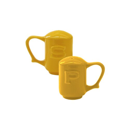 Wade Ceramics Dignity Salt and Pepper in Yellow