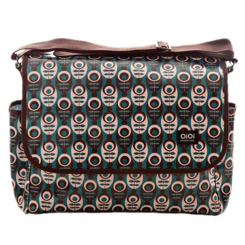 OiOi Mod Messenger Diaper Bag