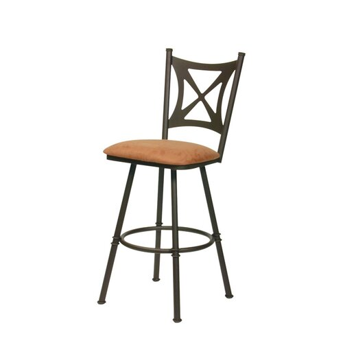 Trica Aramis Swivel Bar Stool with Cushion