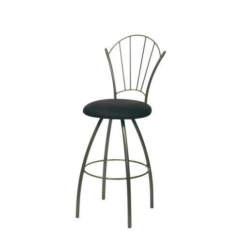 Trica ELF Swivel Bar Stool with Cushion