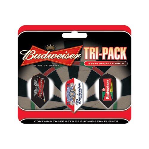 Anheuser-Busch Darts Budweiser™ Slim Triple Pack Flights